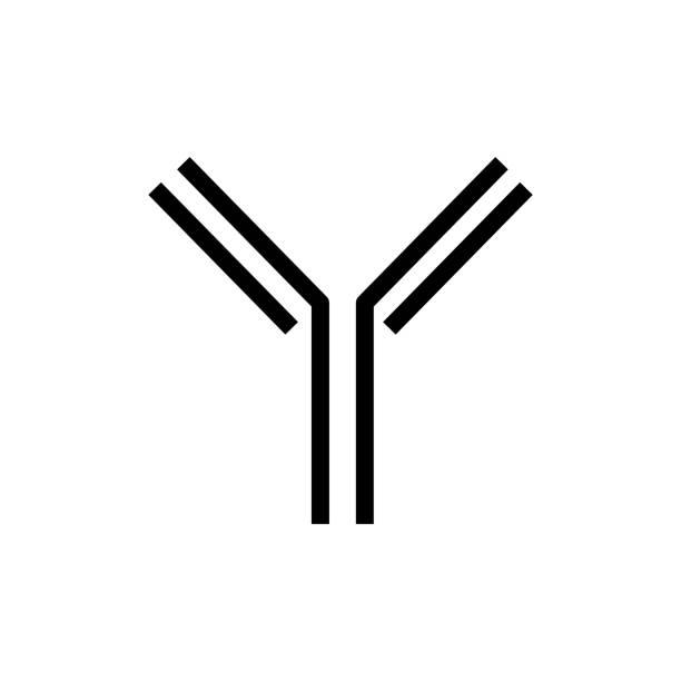 Antibody icon - Vector illustration. vector art illustration