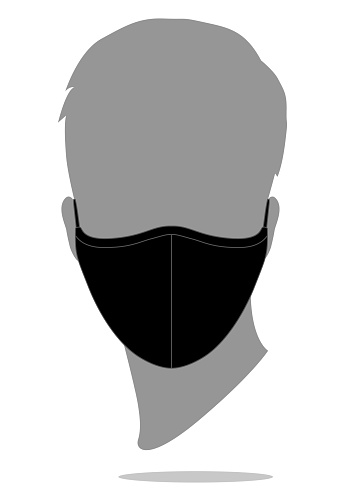 Anti-Dust Face Mask Fabric Vector For Running