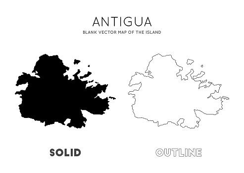 Antigua map.