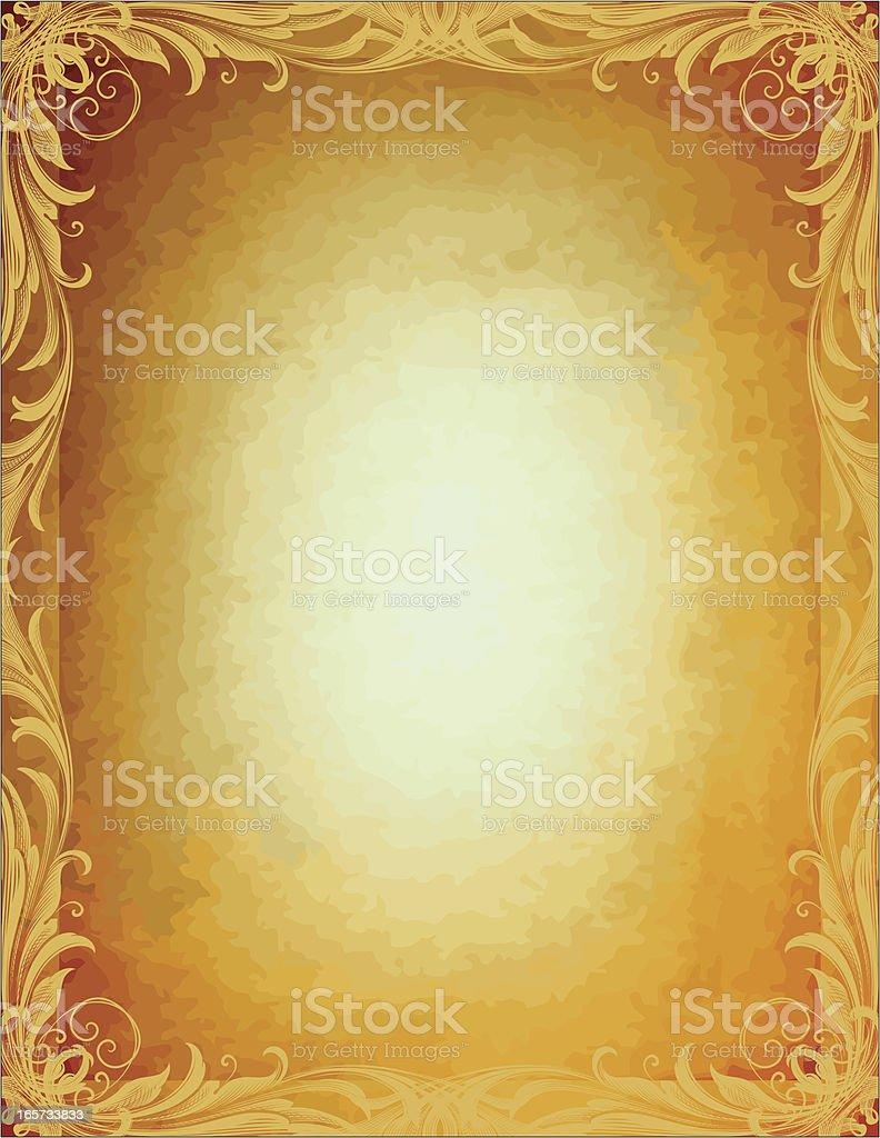 Antique Arabesque Parchment royalty-free antique arabesque parchment stock vector art & more images of 2000-2009