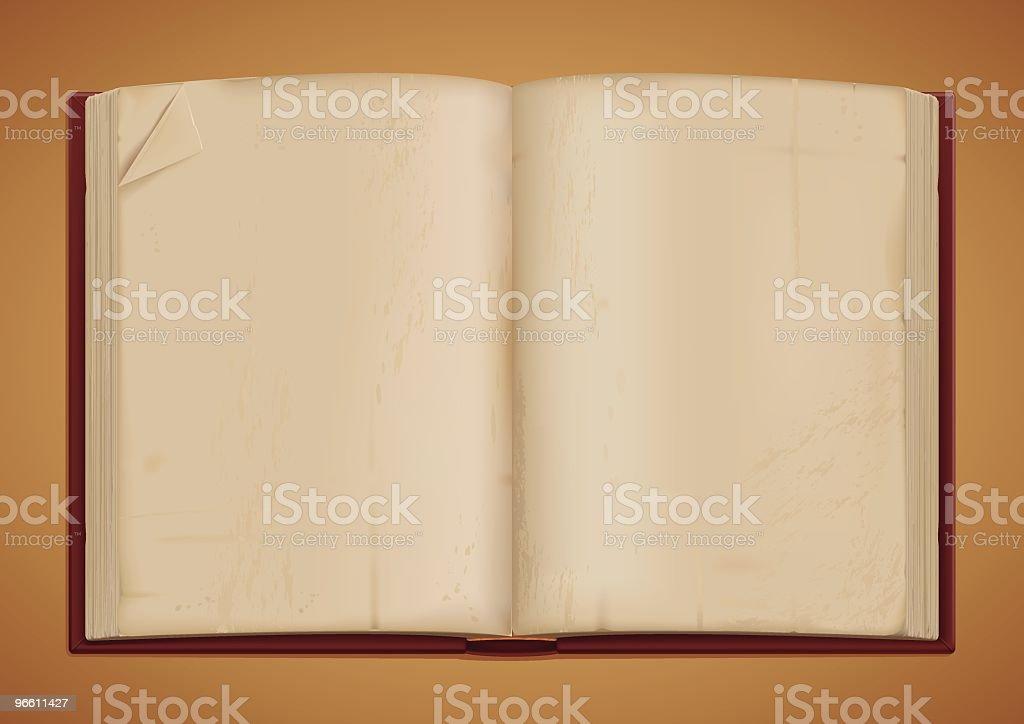 antique book - Royaltyfri Bok - Tryckt media vektorgrafik