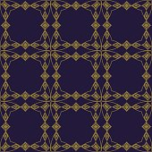 Antique brown background Curve Polygon Cross Frame Diamond Check Gem