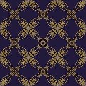 Antique brown background Curve Round Cross Frame Vine Flower