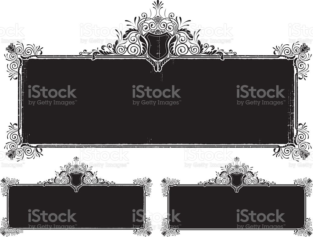 Antique Frame royalty-free antique frame stock vector art & more images of antique