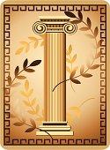 Antique Ionic Column