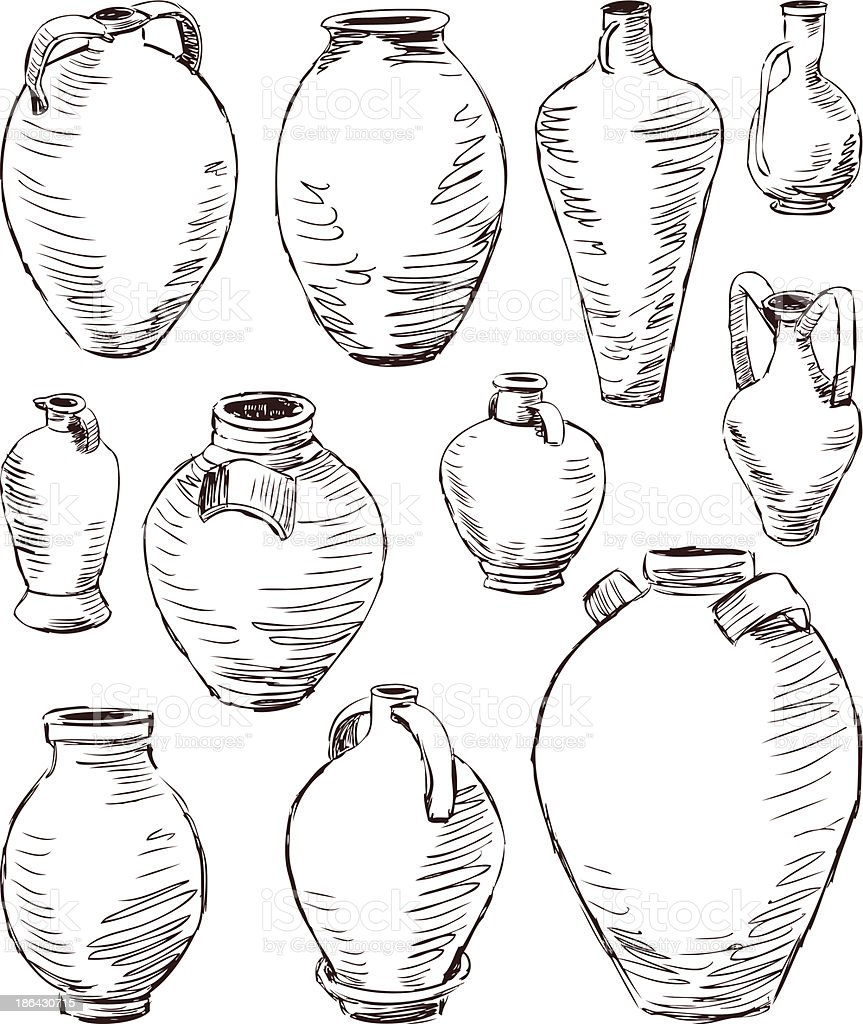 antique jugs royalty-free antique jugs stock vector art & more images of alcohol