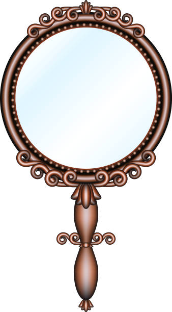 Best Handheld Mirror Illustrations Royalty Free Vector