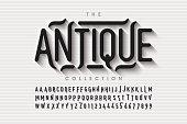 istock Antique style fontation 1250290495