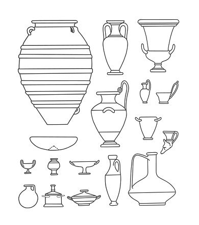 Antique Tableware and Vases