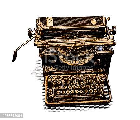 istock Antique Typewriter 1266644064