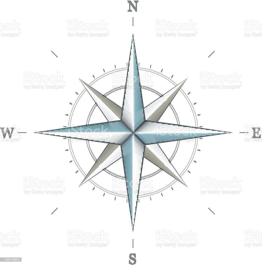 Antique wind rose symbol for navigation royalty-free antique wind rose symbol for navigation stock vector art & more images of cartography