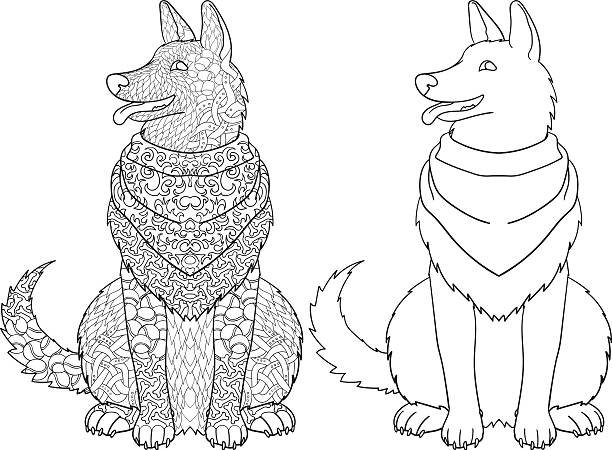 Best Pet Therapy Illustrations, Royalty-Free Vector