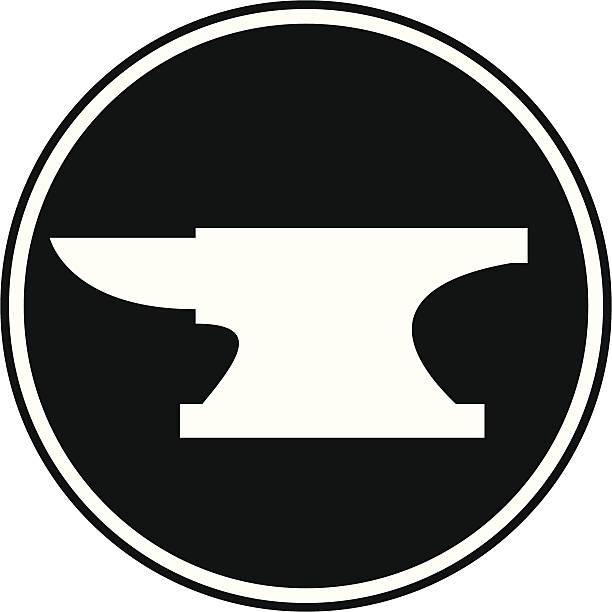 Anvil Symbol vector art illustration
