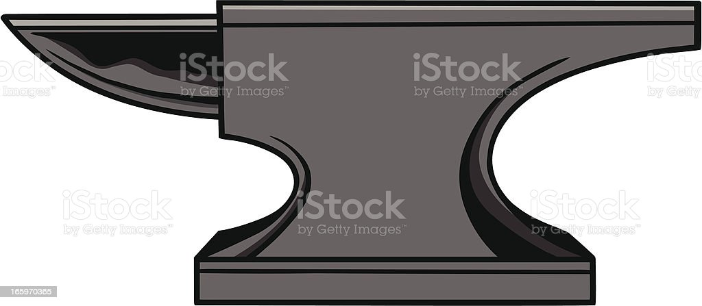 Anvil vector art illustration