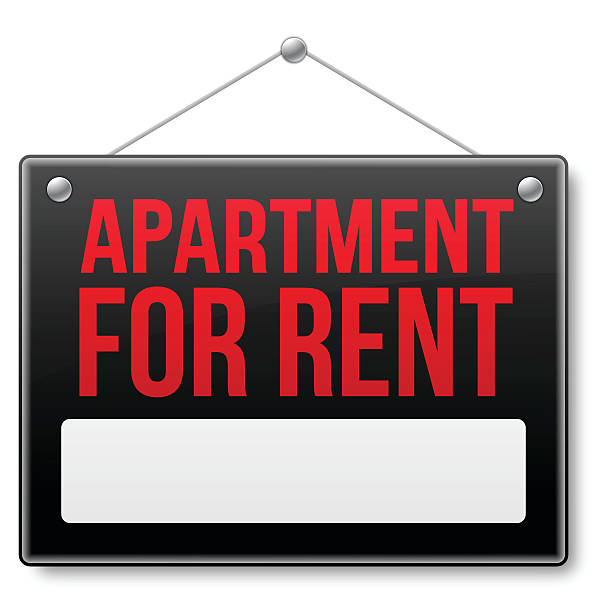 Apartment For Rent Sign: Royalty Free Space For Rent Sign Clip Art, Vector Images