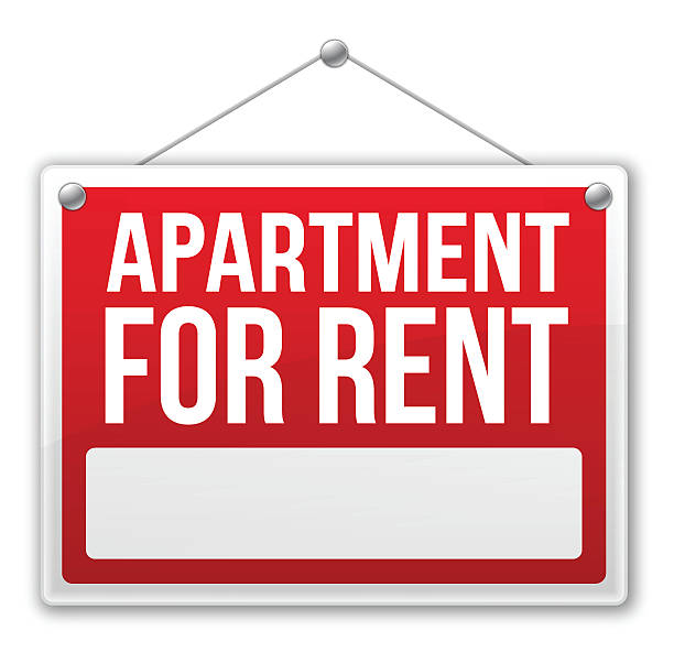Aparments For Rent: Royalty Free Space For Rent Sign Clip Art, Vector Images
