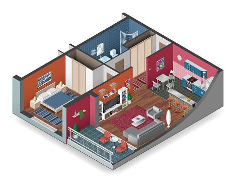 Apartment Isometry