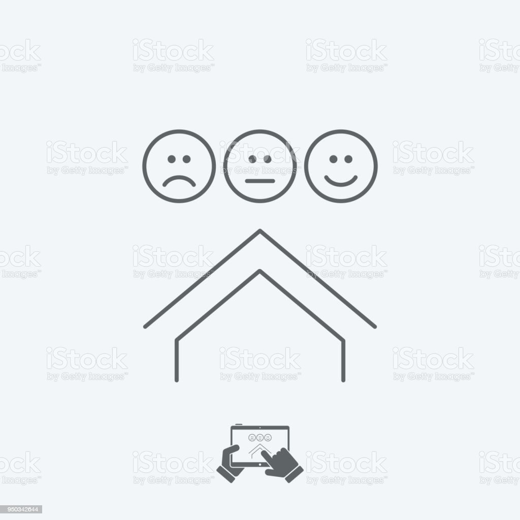 Apartment rating icon