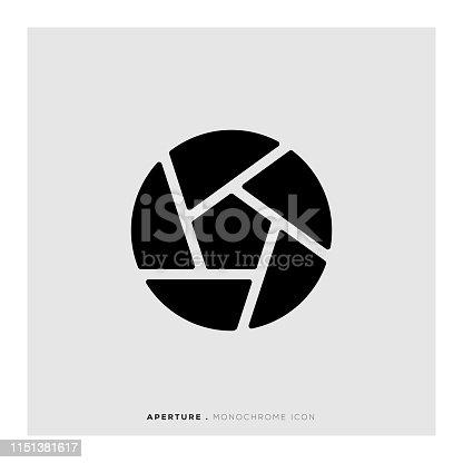 istock Aperture Icon 1151381617
