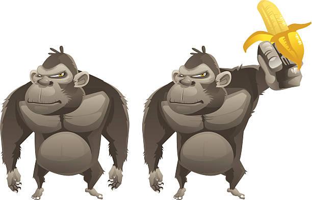 猿の入浴 ベクターアートイラスト