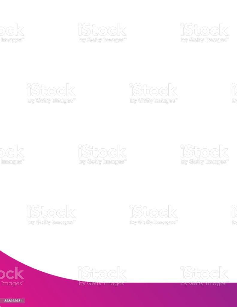 Modèle de l'icône de l'application. Vector dégradé de couleurs fraîches - Illustration vectorielle