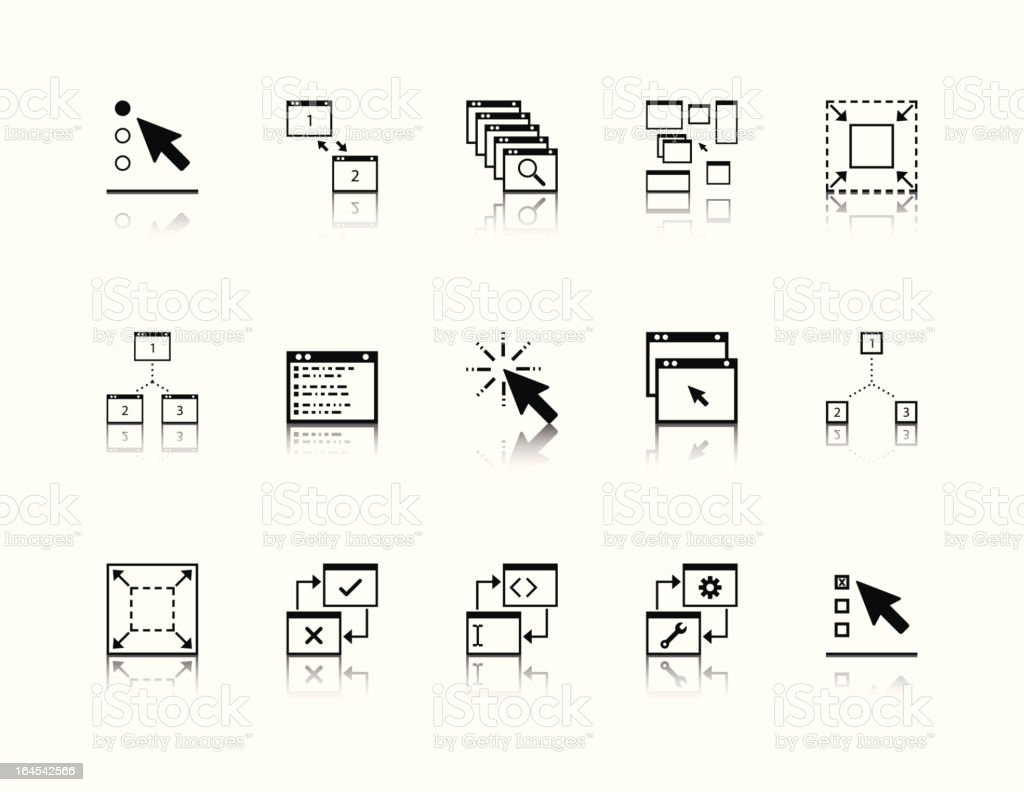 App icons royalty-free app icons stock vector art & more images of arrow symbol