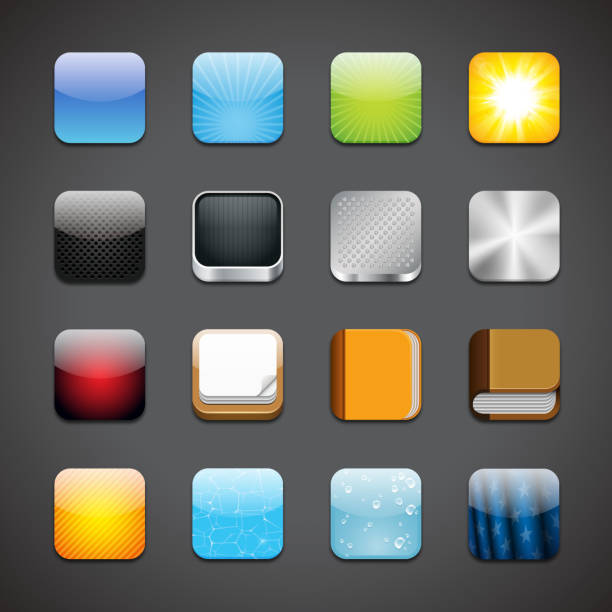 app icons - app stock illustrations