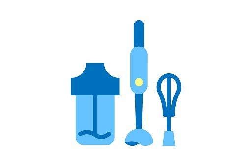 applainces icon, hand blender