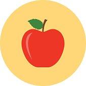 Apple Colored Vector Icon