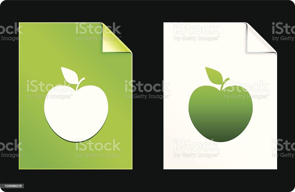 apple design elements royalty-free apple design elements stock vector art & more images of apple - fruit