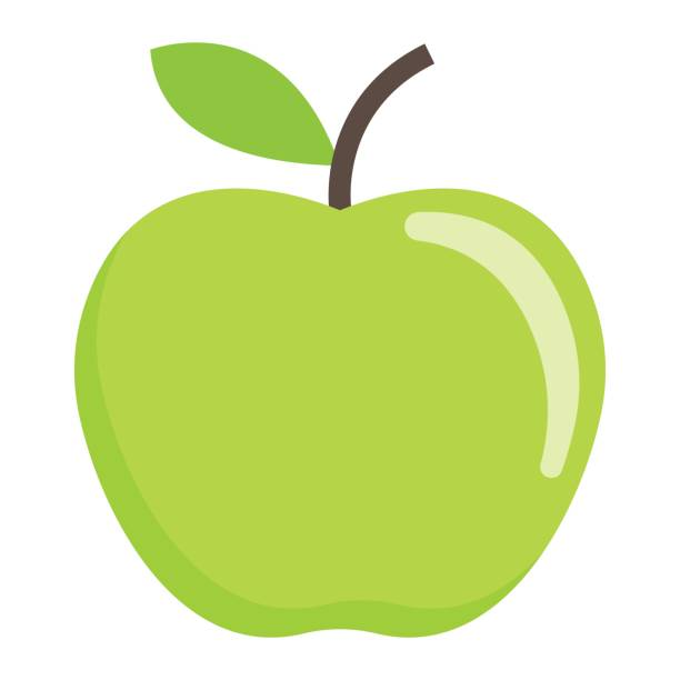 Best Green Apple Illustrations, Royalty-Free Vector ...