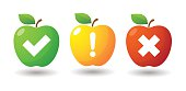 Apple icon set with survey icons
