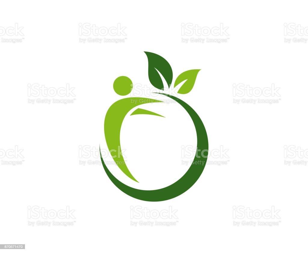 Icono de Apple - ilustración de arte vectorial