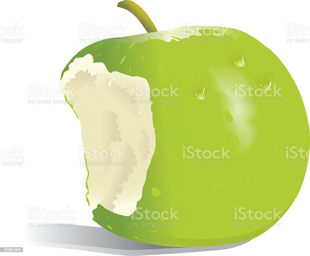 Apple Illustration royalty-free apple illustration stock vector art & more images of apple - fruit