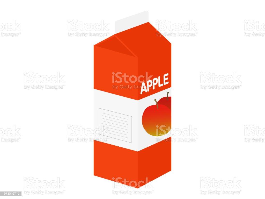 Apfelsaft. – Vektorgrafik