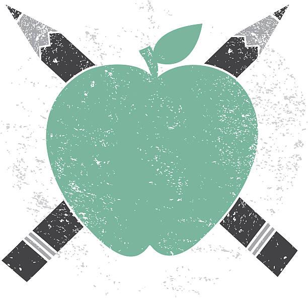 Apple Pencil Cross Education Icon