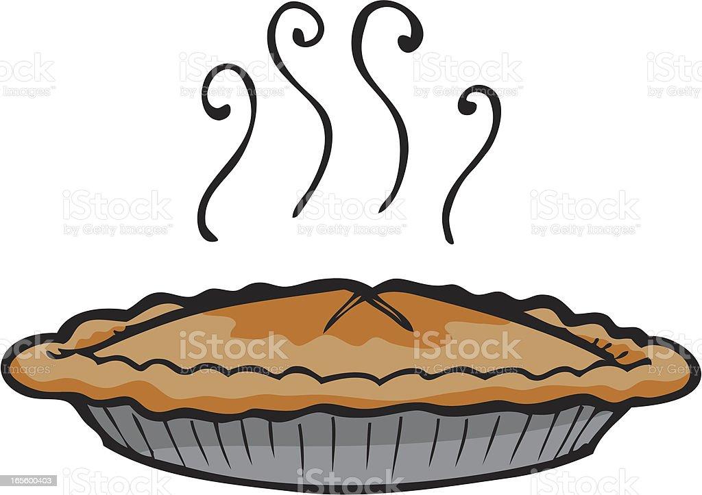 Apple Pie vector art illustration