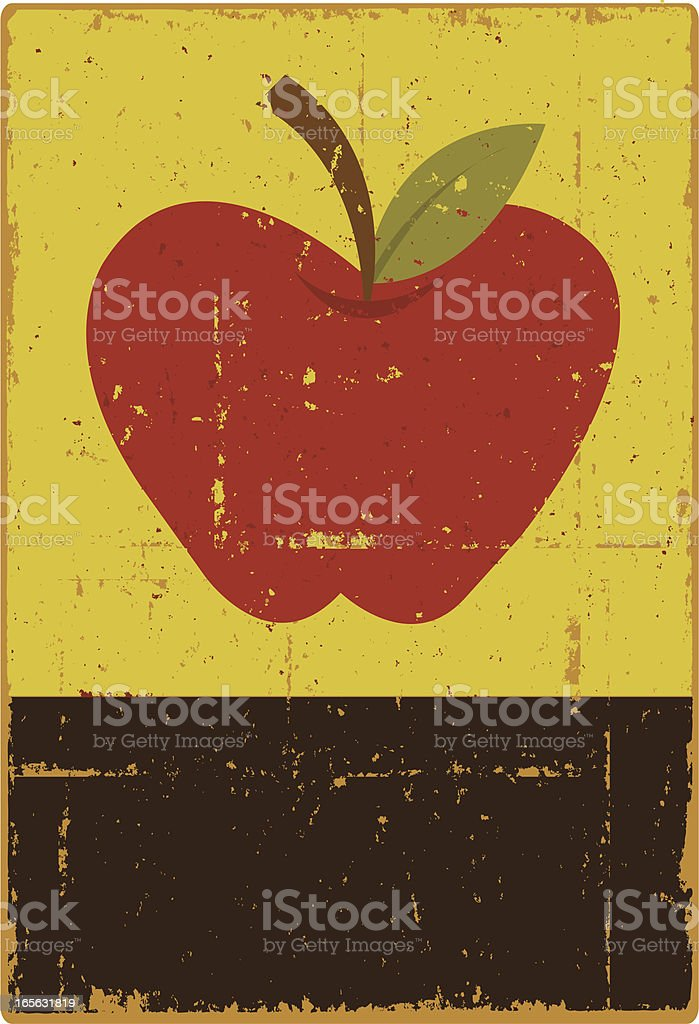 Apple Sign royalty-free apple sign stock vector art & more images of apple - fruit