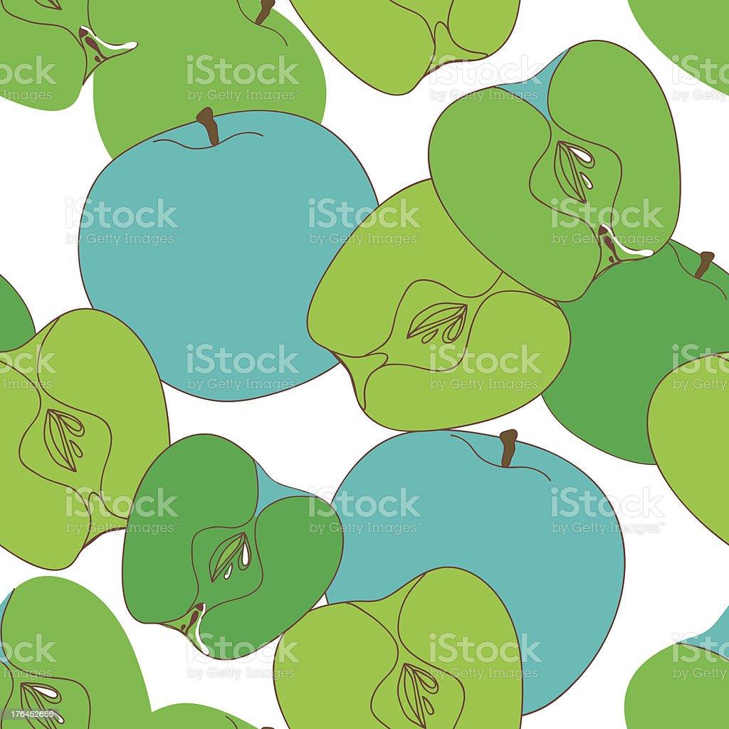 Apple texture royalty-free stock vector art
