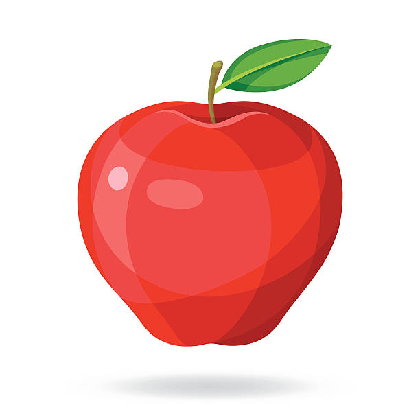Apple - ilustración de arte vectorial