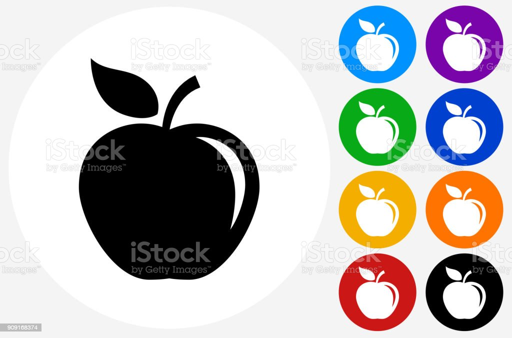Apple. vector art illustration