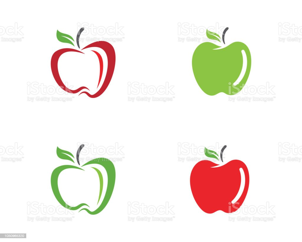 Apple vector illustration apple vector illustration - immagini vettoriali stock e altre immagini di agricoltura royalty-free