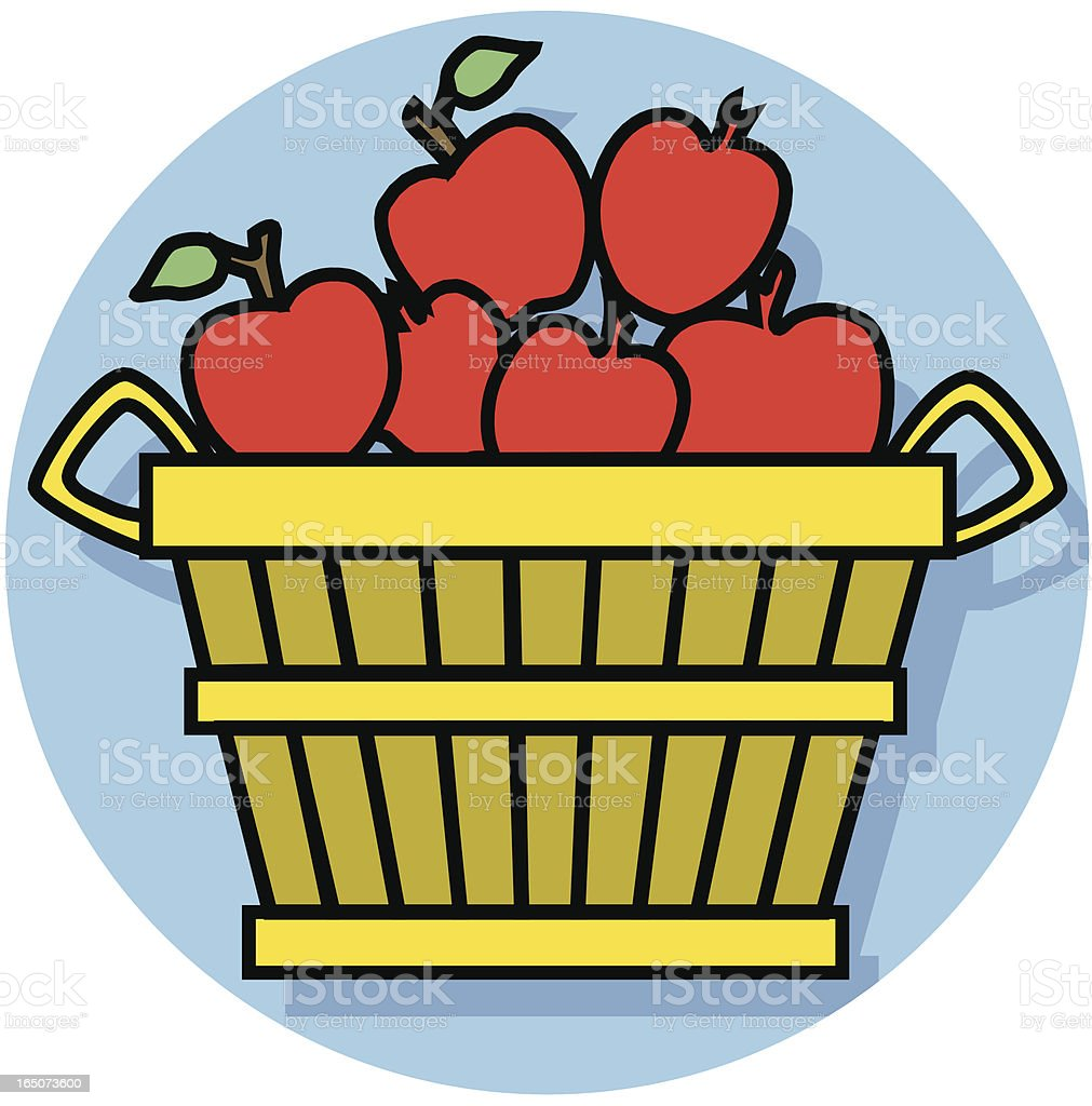 apples icon royalty-free stock vector art