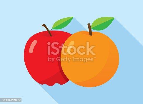 istock Apples to Oranges 1269955072