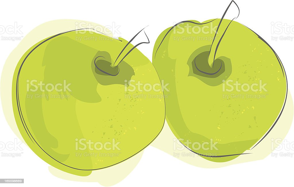 Apples royalty-free apples stock vector art & more images of antioxidant