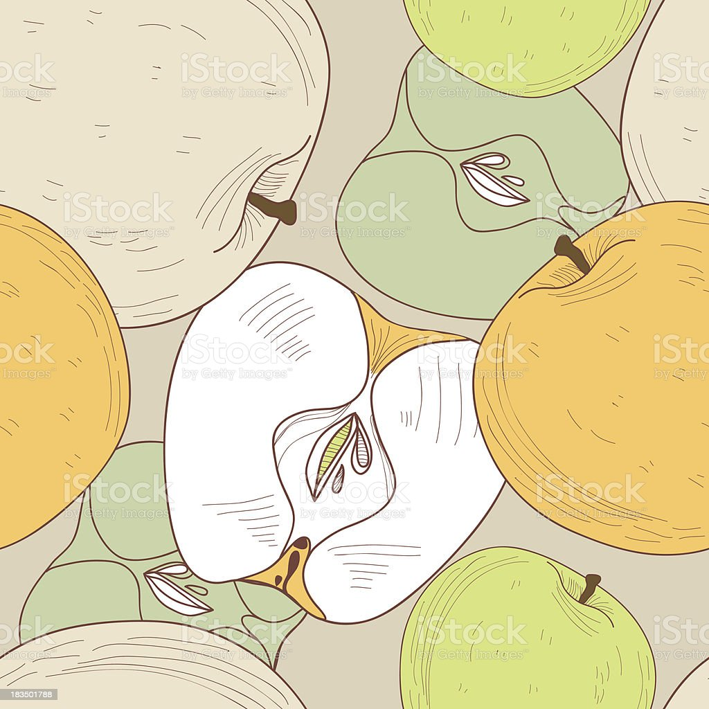 Apples royalty-free stock vector art