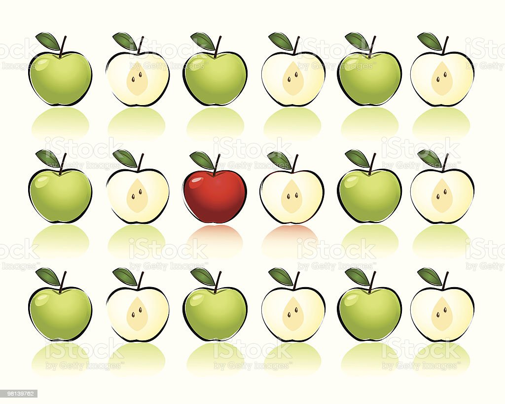 Apples royalty-free apples stock vector art & more images of apple - fruit