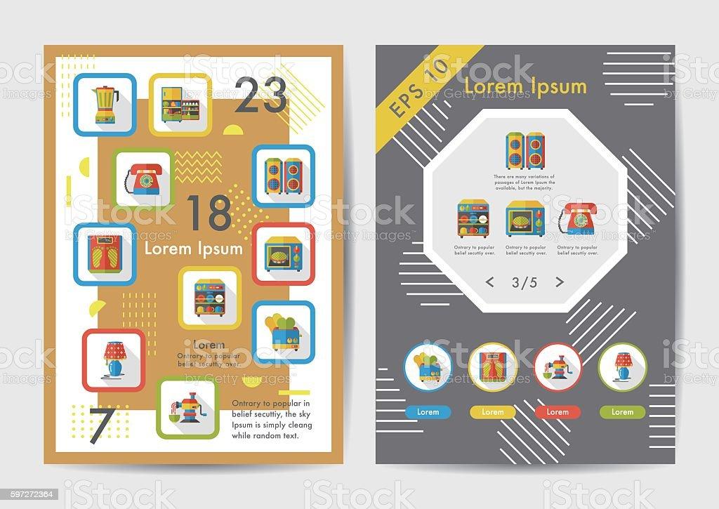Appliances icons set with long shadow,eps10 Lizenzfreies appliances icons set with long shadoweps10 stock vektor art und mehr bilder von einzelner gegenstand