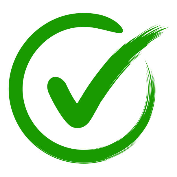 approval symbol check mark in a circle, drawn by hand, vector green sign OK approval or development checklist. personal choice mark approval symbol is a check mark in a circle, drawn by hand, vector green sign OK approval or development checklist. personal choice mark detection stock illustrations