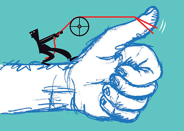 Approval vector art illustration